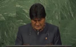 Morales llamó a los pueblos indígenas a combatir el capitalismo