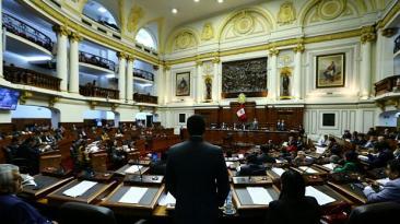 Proyecto para reconstruir el país fue aprobado con cambios