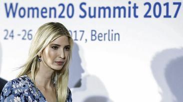 Ivanka Trump, centro de las miradas en cumbre femenina del G20