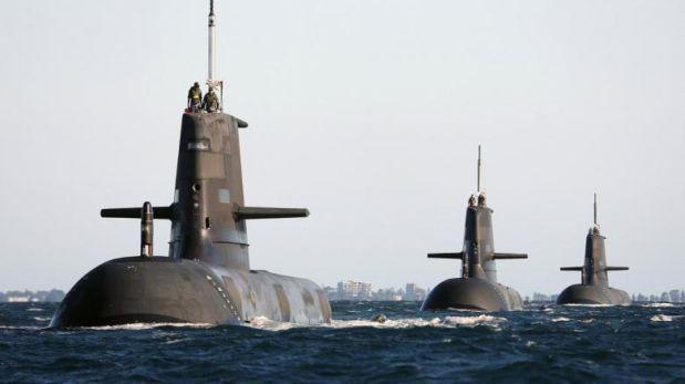 Más de 50 submarinos de varios países rodean Península de Corea