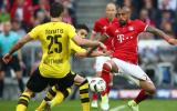 Bayern Múnich vs. Dortmund: 1-1 por semis de Copa alemana