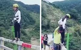"YouTube: sufrió accidente al hacer ""bungee jumping"" en Bolivia"