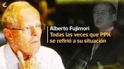 Las veces en las que PPK se refirió a la situación de Fujimori