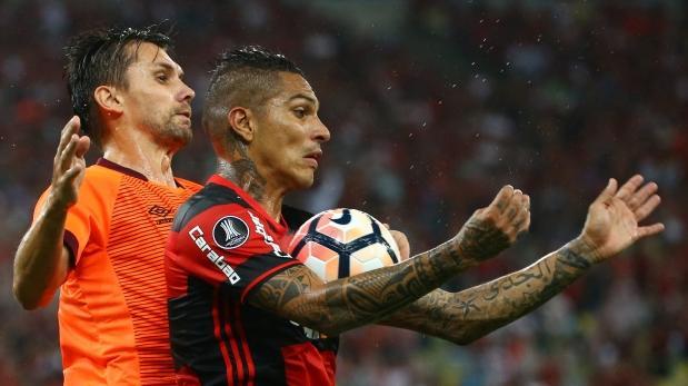 Atlético Paranaense bate a Flamengo y asume liderazgo en Libertadores