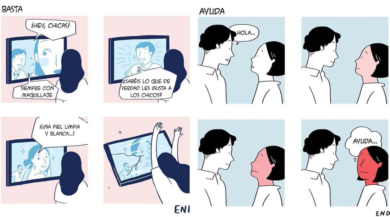 Buenas y malas: Viñetas muestran ambos lados de las relaciones