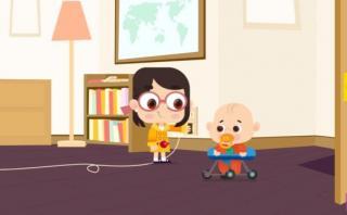 Niños de video viral de la BBC ya tienen su serie animada