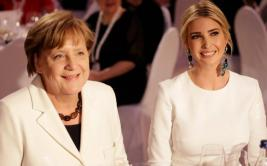 Merkel e Ivanka se unen para vencer la brecha laboral de género