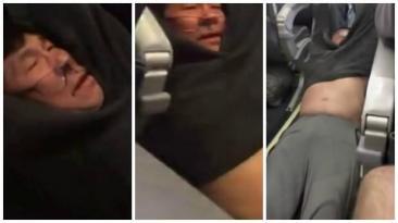 """Policías culpan al pasajero de United arrastrado por """"agresivo"""""""
