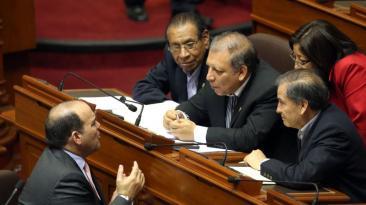 Así fue el debate para aprobar ley de reconstrucción [FOTOS]