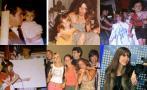 Juliana Oxenford compartió fotografías de su archivo personal