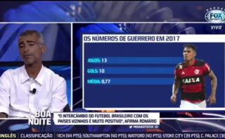 """Romario se rinde ante Guerrero: """"Es lo que el fútbol necesita"""""""