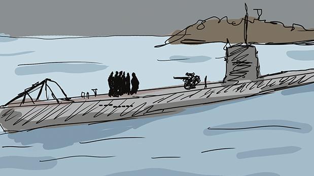 Hace cien años: Submarinos alemanes