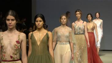 Puro glamour: Así fue la colección de Yahel Waisman