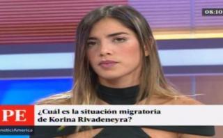 """Korina Rivadeneira a PPK: """"Por favor, analice mi caso"""" [VIDEO]"""