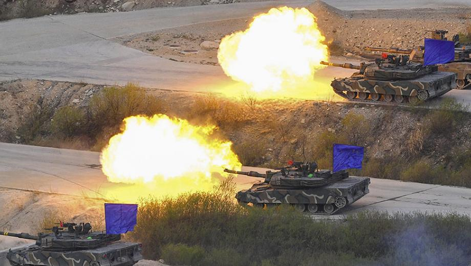 Armas de guerra que EE.UU. probó cerca a Corea del Norte