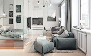 Todo en uno: Departamento muestra lo genial de vivir en 32 m2