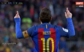 Lionel Messi: nuevo golazo del crack con definición magistral