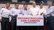 Las cartas del Ejecutivo para liderar la reconstrucción