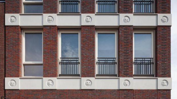 Utilizaron los 22 'emojis' más expresivos y representativos. (Foto: Bart van Hoek, Attika Architekten)