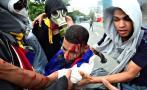 Venezuela: Un muerto en brutal represión de protesta opositora