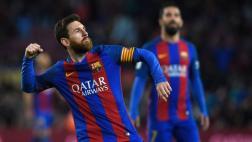 Barcelona humilló 7-1 al Osasuna con dos golazos de Leo Messi