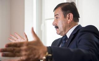 """Hidalgo negó """"chuponeo"""" a Humala por orden de Alan García"""