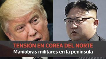 EE.UU. probó sus armas de guerra a 30 km. de Corea del Norte