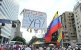 Venezuela: Mueren dos personas en protesta opositora