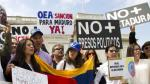 La OEA convoca a reunión de cancilleres por crisis en Venezuela - Noticias de uruguay