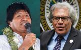 """Evo: Almagro está destrozando a la OEA """"por sumiso al imperio"""""""