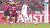 Paolo Guerrero casi regala este golazo en la Copa Libertadores