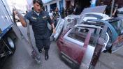 San Jacinto: incautan 25 toneladas de autopartes robadas