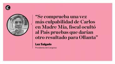 Humala: reacciones a la difusión de audios del caso Madre Mía