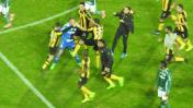 Copa Libertadores: Peñarol vs. Palmeiras terminó a los golpes