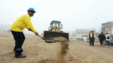 Villa El Salvador: Lima construirá nuevas pistas y veredas