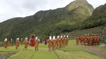 Machu Picchu: promocionan inicio de fiestas jubilares de Cusco