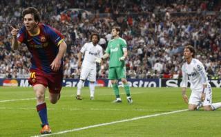 Lionel Messi y un golazo legendario al Real Madrid en Champions