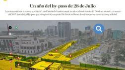 'By-pass' de 28 de Julio: un año de fallas y críticas