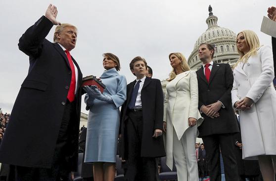 Donald Trump, 100 días como presidente en 20 fotos