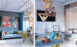 Mira cómo luce la decoración de este departamento de 30 m2