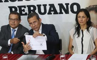 Ollanta Humala acudió hoy nuevamente a reconocer los audios interceptados en el 2011. (Foto: Archivo El Comercio/ Video: Canal N)