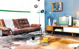 Toque vintage: Estas son las claves para diseñar una sala retro