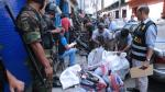 San Jacinto: incautan 25 toneladas de autopartes robadas - Noticias de luciana jacinto