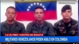 Venezuela: militares se rebelan y piden refugio en Colombia