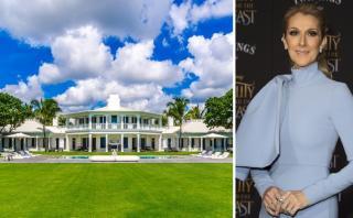 La impresionante mansión que Celine Dion vendió en California