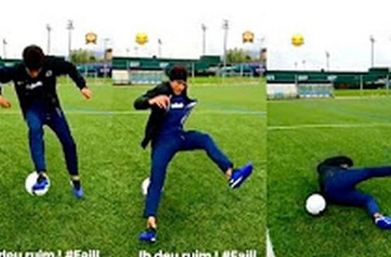 Neymar y la vergonzosa caída que da la vuelta al mundo