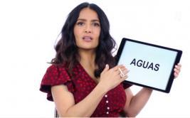 Salma Hayek explica algunas expresiones mexicanas en YouTube