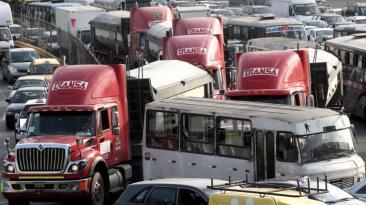 Callao: el caos vehicular de la avenida Faucett en imágenes