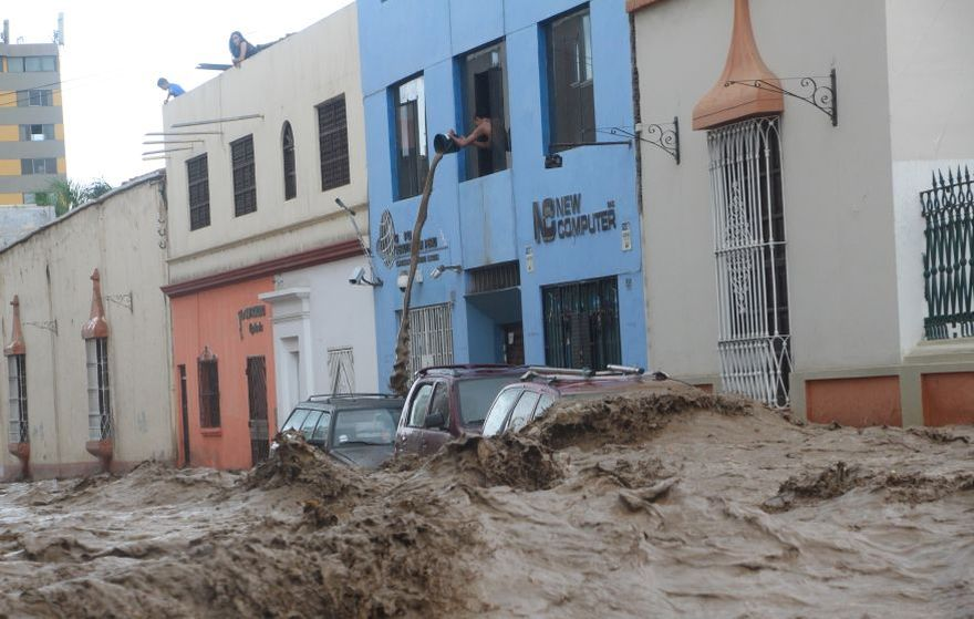 Trujillo: City Under Water as Consequence of El Niño Costero Floods