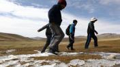 Heladas: temperatura alcanza los 6.7° bajo cero en Tacna
